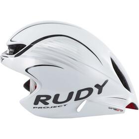 Rudy Project Wing57 Pyöräilykypärä, white/silver (shiny)